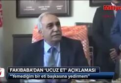Bakan Fakıbabadan ucuz et açıklaması