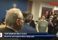 Bursanın yeni başkanı Alinur Aktaş oldu