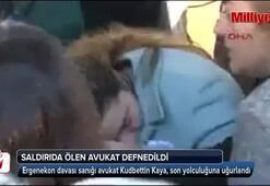Avukat Kudbettin Kaya, son yolculuğuna uğurlandı