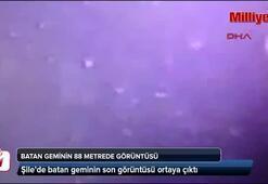 Batan geminin 88 metrede görüntüsü