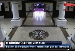 MİT Müsteşarı Hakan Fidanın darbe girişimi öncesi karargahtan çıkış anı