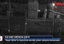 Yaşar Gülerin kaçırılma anında çıkan çatışma güvenlik kamerasında