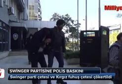 Lüks villadaki swinger partisine polis baskını