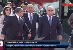 Cumhurbaşkanı Erdoğan Baküde