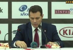 "Dimitris Itoudis: ""Göstermiş olduğumuz performanstan mutluyum"""