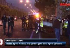 İzmirde feci kaza