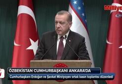 Erdoğan: 16 Marttan itibaren  İstanbul - Semerkant uçuşları başlayacak