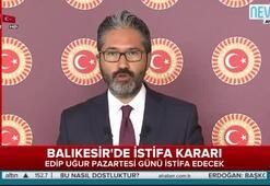 Balıkesirde istifa kararı