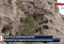 4 bin 500 yıllık apartman sistemi turizme kazandırılmayı bekliyor