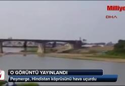 Irak ordusu: Peşmerge köprüyü böyle uçurdu