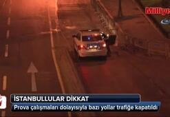 İstanbullular dikkat Bu yollar trafiğe kapatıldı...