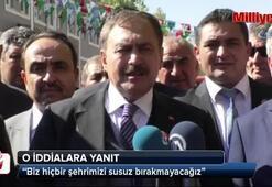 Bakan Eroğlu'ndan, İstanbul'un suyuyla ilgili açıklama