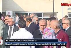 Kılıçdaroğlu Baykalı ziyaret etti