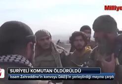 Suriyeli komutan öldürüldü