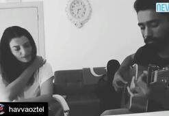 """Havva Tilkiden   """"Sen Olsan Bari"""" performansı"""
