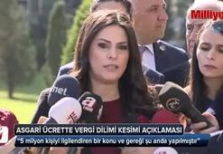 Bakan Sarıeroğlu'ndan asgari ücrette vergi dilimi kesimi açıklaması