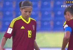 Deyna Castellanosun harika golü son 3e kaldı