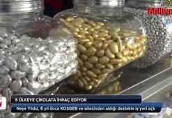 Ev hanımıydı, 6 ülkeye çikolata ihraç ediyor
