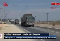 Suriye sınırında tansiyon yükseldi