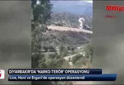 Lice, Hani ve Erganide narko-terör operasyonu