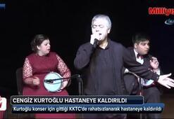 Cengiz Kurtoğlu KKTCde hastaneye kaldırıldı