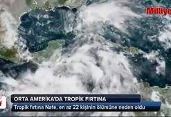 Orta Amerika'da tropik fırtına