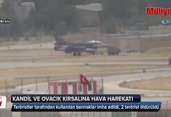 Kandil ve Tunceli kırsalına hava harekatı: 2 terörist daha