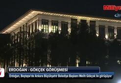 Cumhurbaşkanı Erdoğan, Melih Gökçek ile görüşüyor