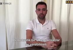 Xavi: Katalonyada yaşananlar utanç verici