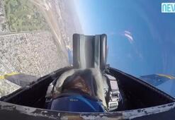Kadın pilot kokpitte baygınlık geçirdi