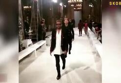 Neymar ve Alves moda haftasına damga vurdu