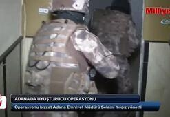 Adanada uyuşturucu operasyonu