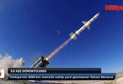 Türkiyenin yeni füzesi ilk kez görüntülendi