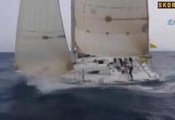 Bodrum'dan, Karayipler'e yelkenli teknesiyle açıldı