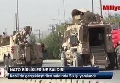 Kabil'de NATO birliklerine saldırı: 5 yaralı