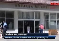 Herakles Lahdi Antalya Müzesinde ziyarete açıldı