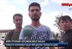Taliban'ın zulmünden kaçan 300 göçmen Türkiye'ye geldi