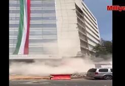 Meksika depreminden korkunç görüntüler