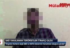 PKKlı teröristlerden çok çarpıcı itiraflar