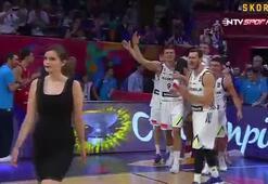Eurobasket madalya töreninde Doncic sürprizi