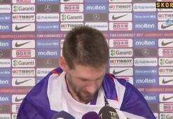 Gasper Vidmar maç sonu konuştu
