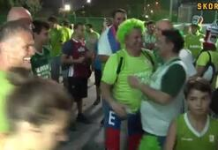 Slovenya taraftarı şampiyonluğu kutladı