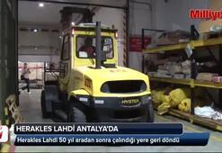 Herakles Lahdi, 50 yıl sonra evinegetirildi