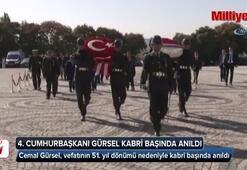 4. Cumhurbaşkanı Gürsel mezarı başında anıldı