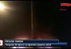 Okulda yangın: 25 ölü