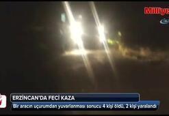 Erzincan'da feci kaza: 4 ölü
