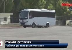 Konya'da FETÖ çatı davası başladı