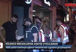 İstanbul polisinden eğlence mekanlarına asayiş uygulaması