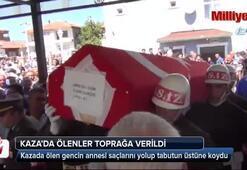 Bursadaki feci kazada hayatını kaybedenler toprağa verildi
