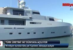 Türk üretimi 14 milyon euroluk yat dünyaya açılıyor